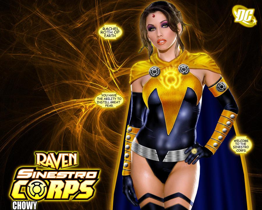 Sinestro Corps Raven by chowyspizz
