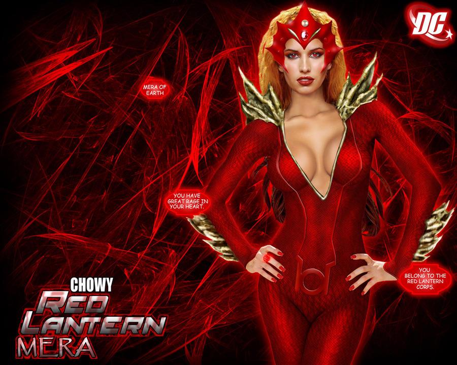 Red Lantern Mera by chowyspizz