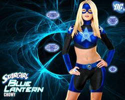 Blue Lantern Star Girl