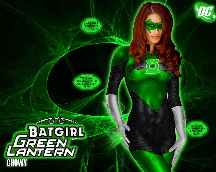 Green Lantern Batgirl by chowyspizz