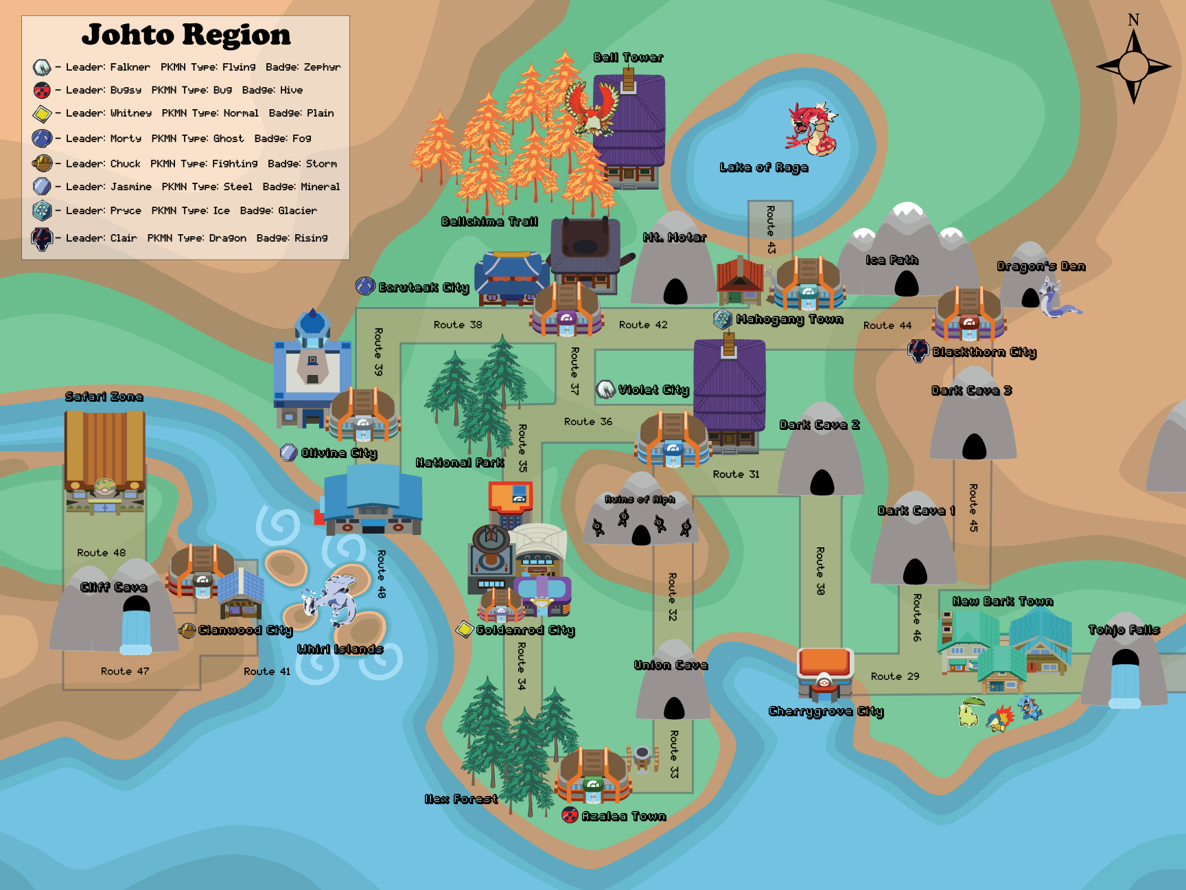 map of johto by reecie on deviantart