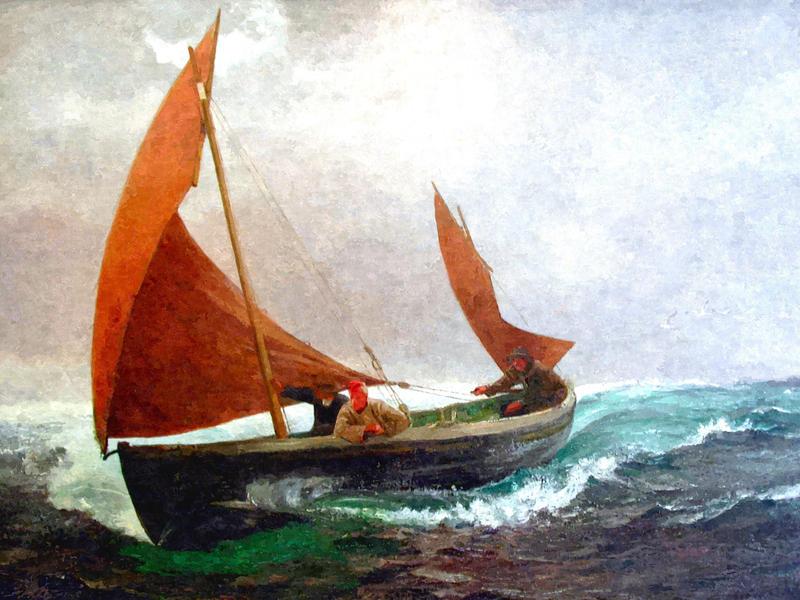 символ лодки в литературе