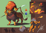 TLoZ - Guardians of Death Mountain, Lynel