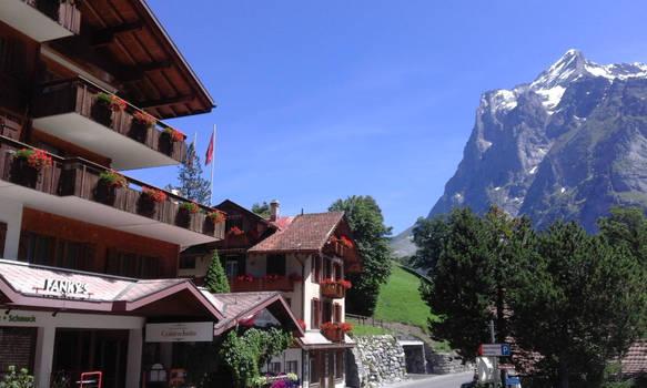 Blue Skies in der Schweiz