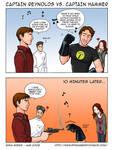 Capt. Reynolds vs Capt. Hammer