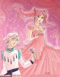 Lady Serenity x Helios by strawberrygina
