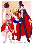 Sailor Senshi - Moon group
