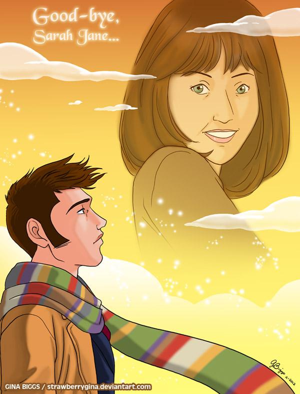 Doctor Who - Goodbye Sarah Jane by strawberrygina