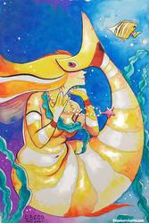 Butterfly Fish Mermaid - Mermay