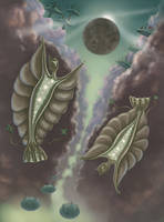 Gas Giant Aliens by jkemeny