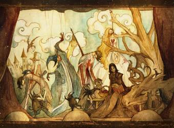 Fairy Tale Endings by scarlet-dragonchild