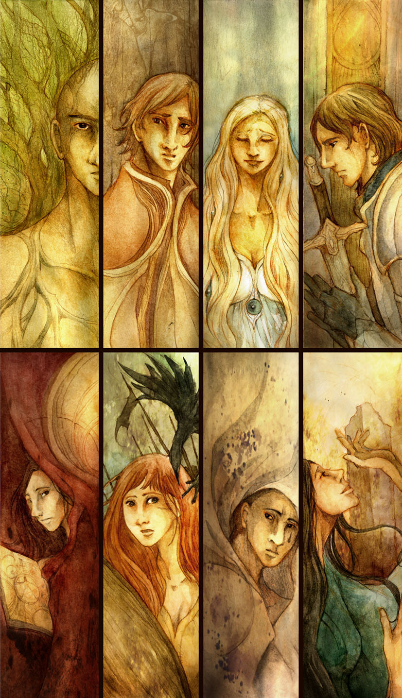 Portraits of a Cycle by scarlet-dragonchild