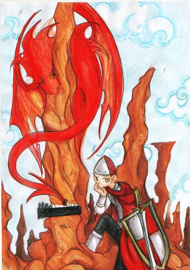 Dragonslaying..? by scarlet-dragonchild