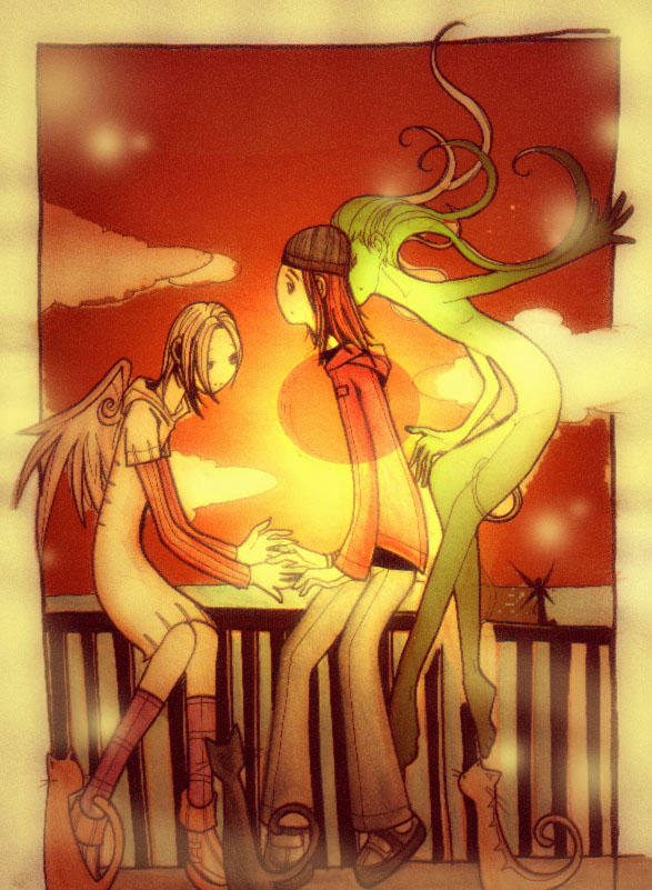 Twilight by scarlet-dragonchild