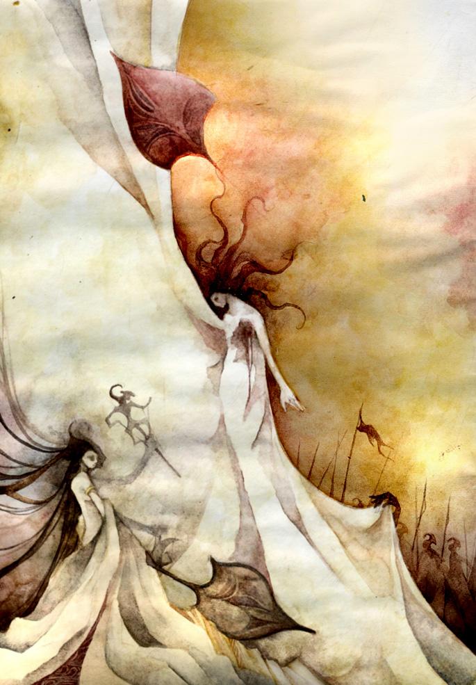 Shadow Play by scarlet-dragonchild