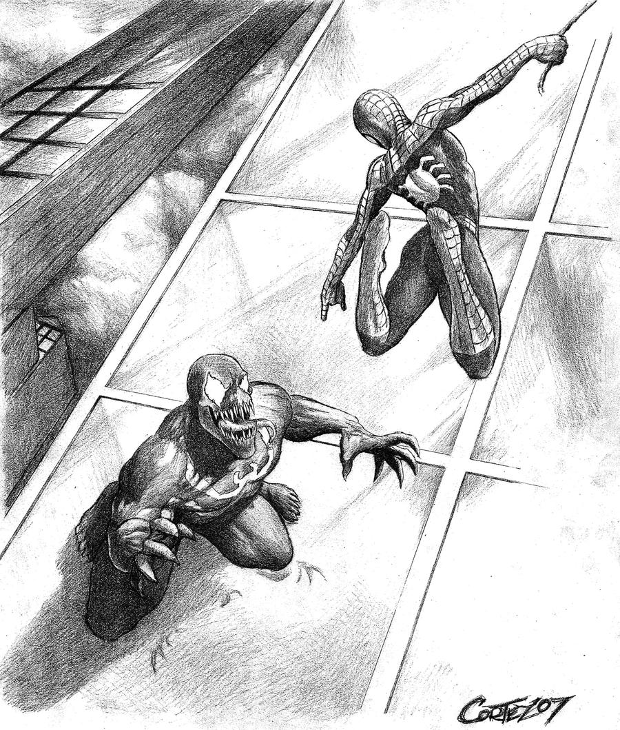 Spider-Man VS Venom by Sumo0172