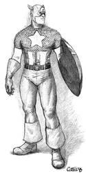 Captain America 1 by Sumo0172