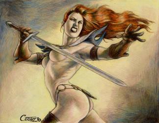 Red Sonja 3 Berkut by Sumo0172