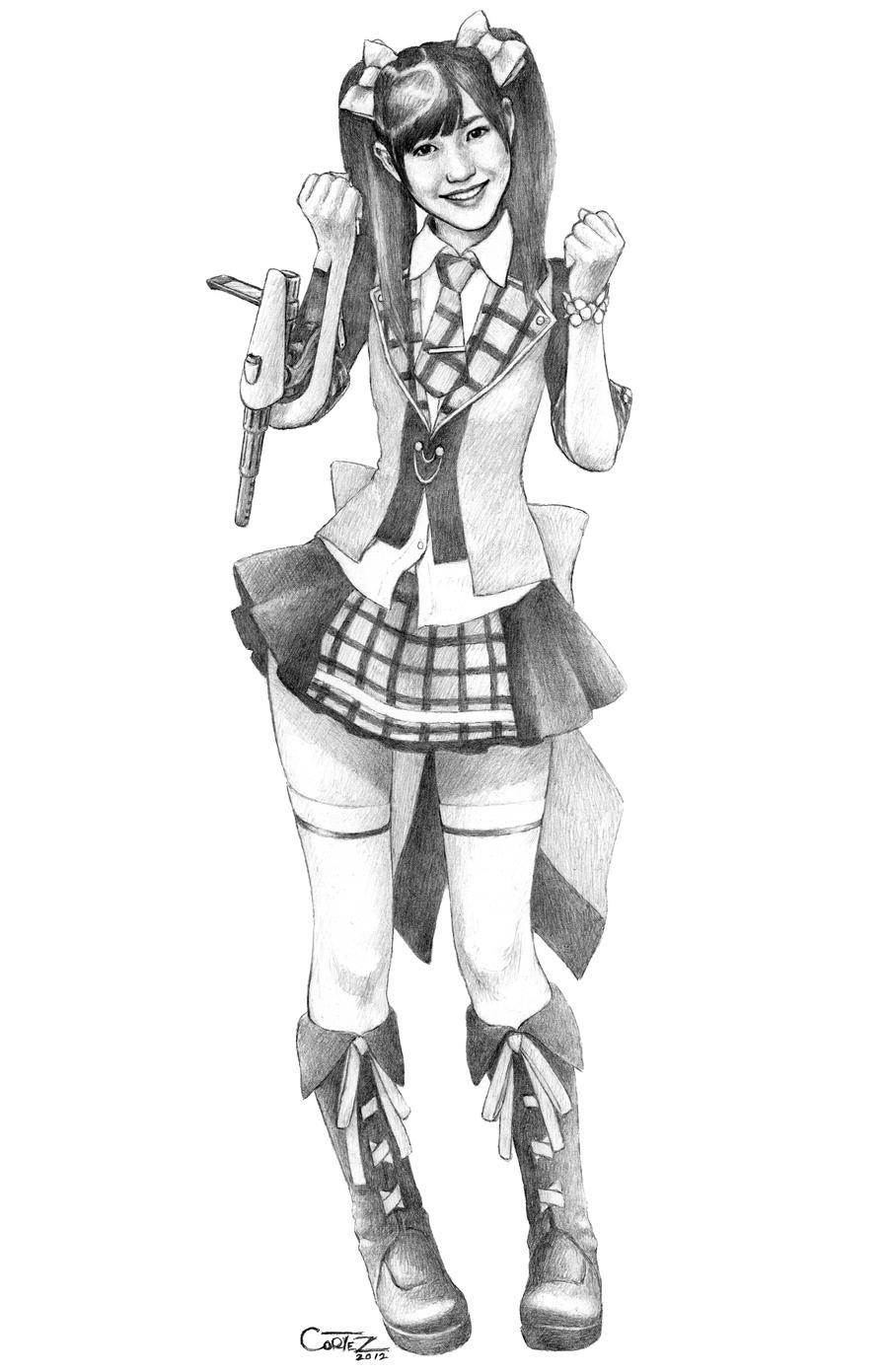 AKB48: Watanabe Mayu - AKB0048 version by Sumo0172