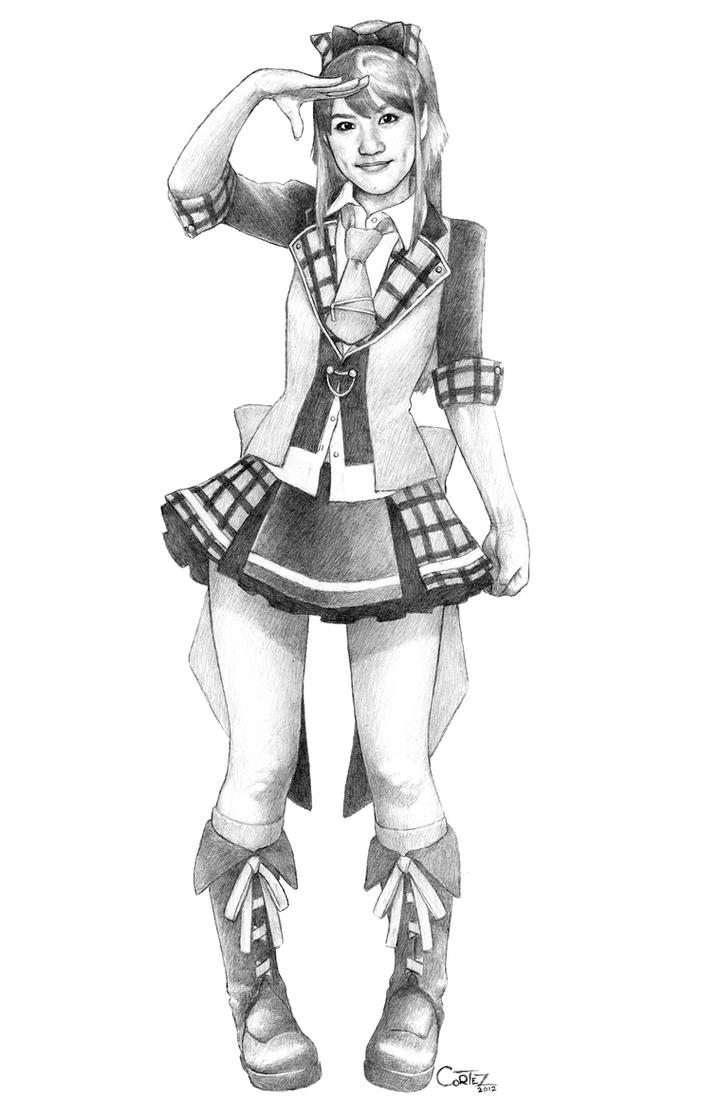 AKB48: Takahashi Minami - AKB0048 version by Sumo0172