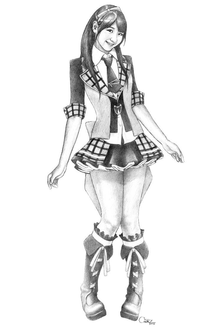 AKB48: Kashiwagi Yuki - AKB0048 version by Sumo0172