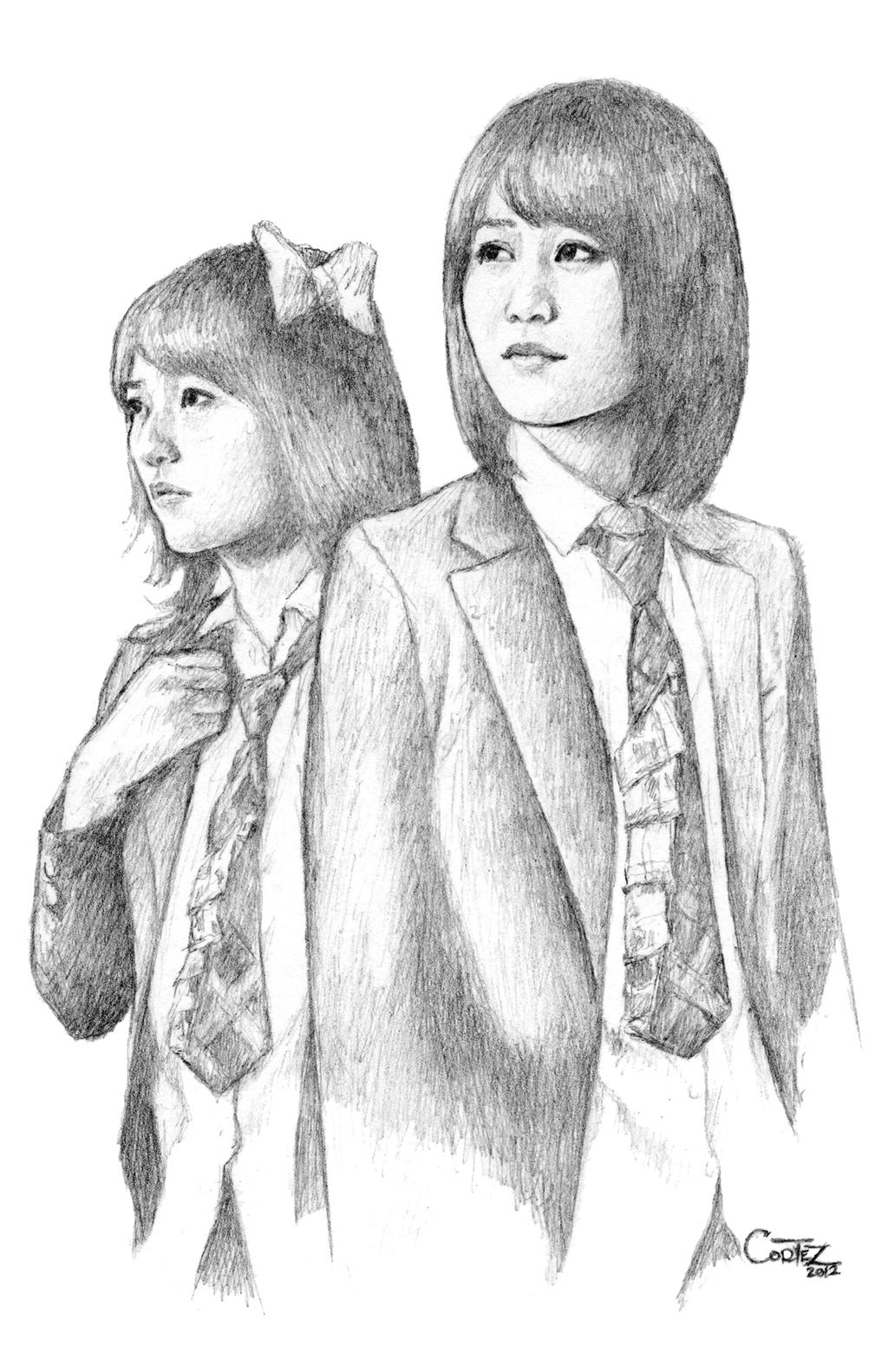 AKB48: Takahashi Minami and Maeda Atsuko - Forever by Sumo0172
