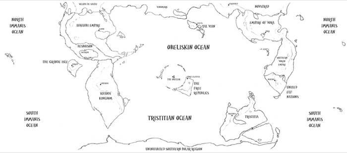 The Fantasy Field Guide: The World