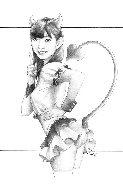 AKB48: Watanabe Miyuki - Warukii by Sumo0172
