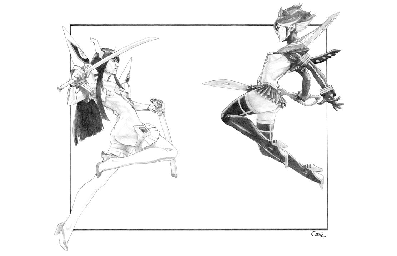 Kill la Kill - Junketsu VS Senketsu by Sumo0172