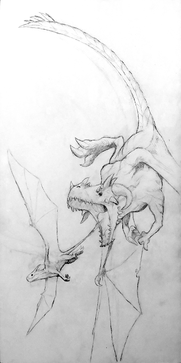 Two Dragons by Sumo0172