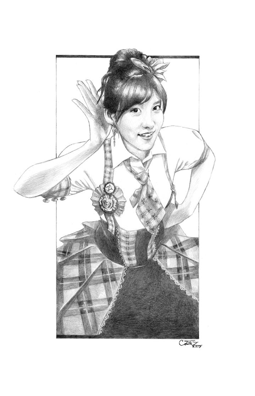 AKB48: Taniguchi Megu - Breakthrough by Sumo0172