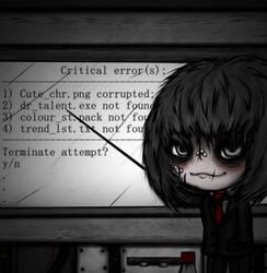 Critical errors (pseudo vent art)