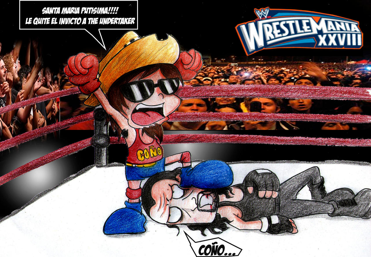 Dross vs Undertaker by kotani2010