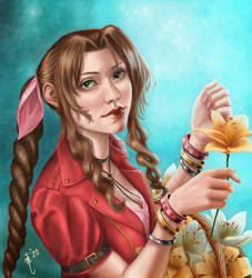 Aerith, the Flower Girl