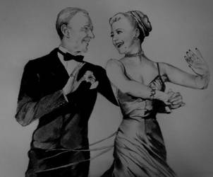 Astaire and Rogers by jackmanga