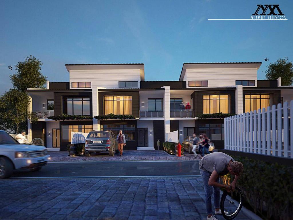 Residential terrace apartments by jilyinka on deviantart for The terrace apartments