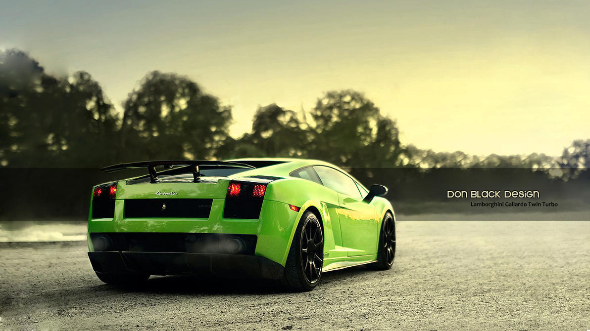 lime green lamborghini