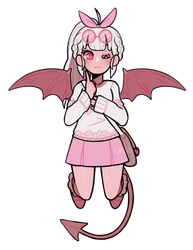 Pink Demon by k030