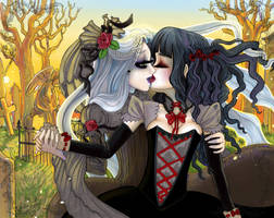 Commission~Cinder and Maria by Harmony-Walls