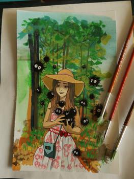 Reianna (Miyazaki inspired)