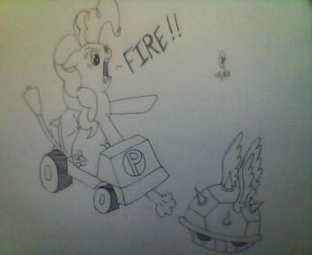 Pinkie Kart by Noodlefreak88