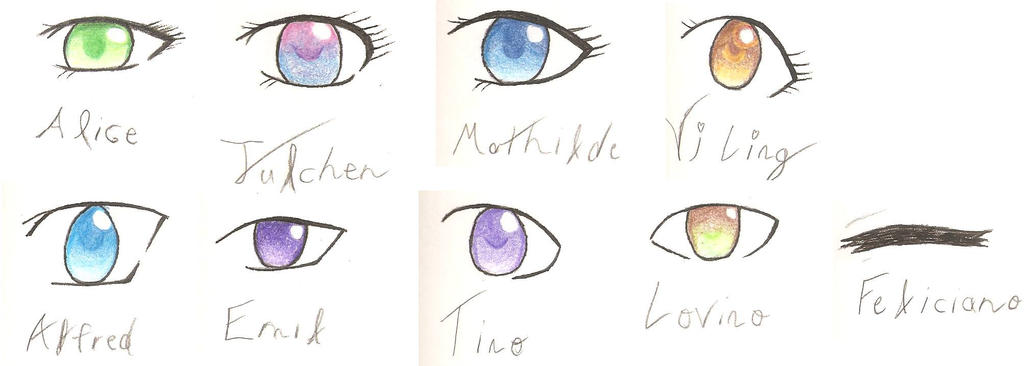 Hetalia eyes by CuteGoth777