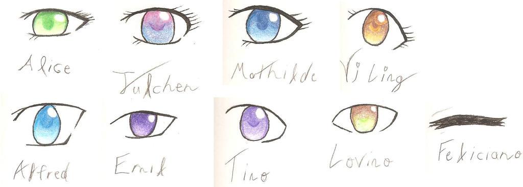 Hetalia eyes by CuteGoth777