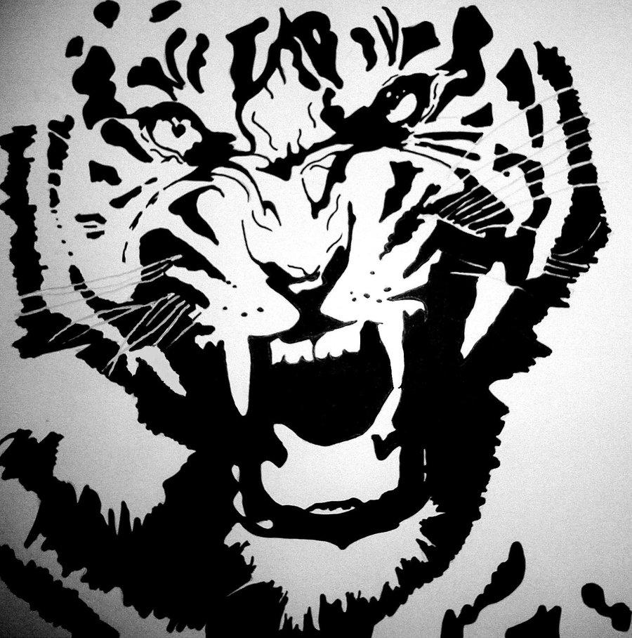 Tiger Stencil Printable Wwwgalleryhipcom The Hippest