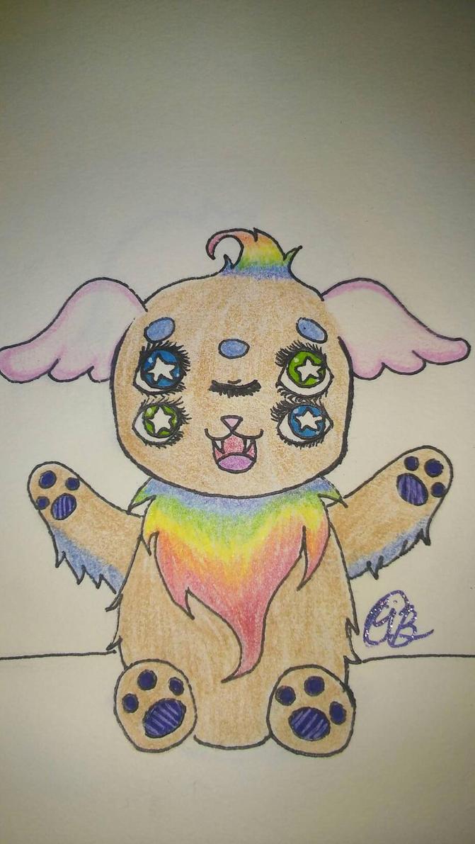 Puffball by puppyunicorn