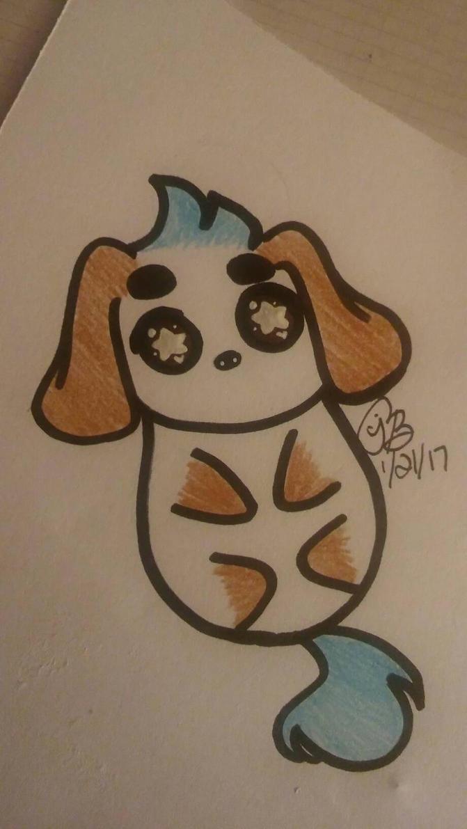 Doggo by puppyunicorn