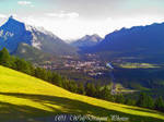 Banff the over look by patchworkwolf