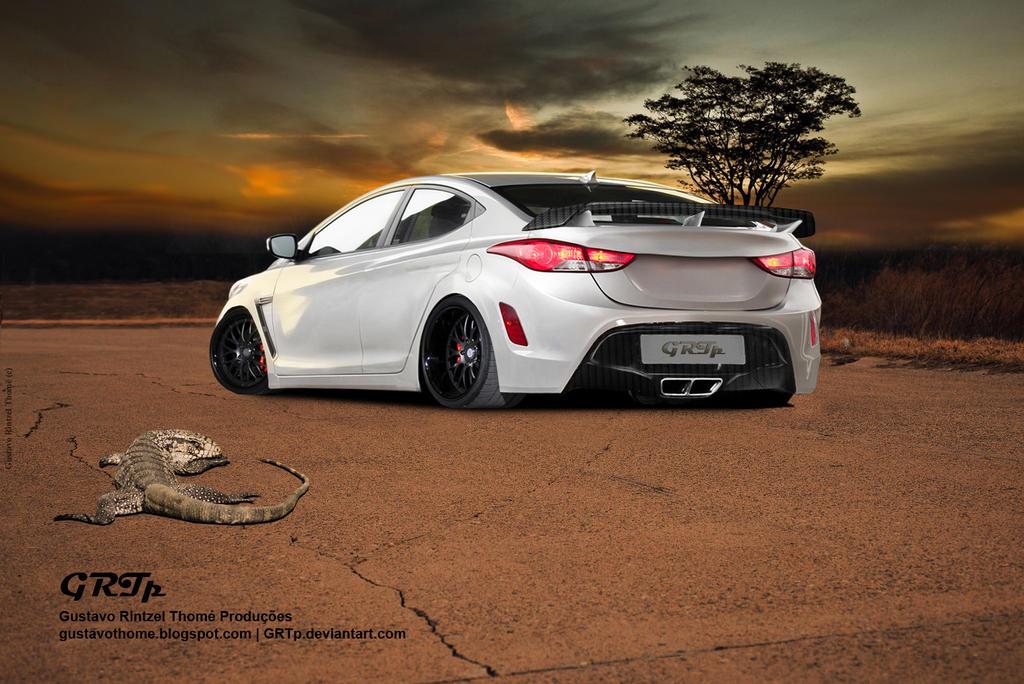 2014 Hyundai Elantra Custom Body Kit Newhairstylesformen2014 Com