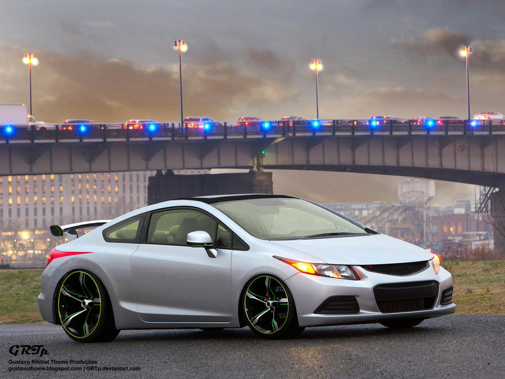 Honda Civic Coupe by GRTp on DeviantArt