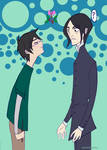 Mistletoe:  Harry and Snape